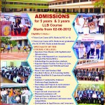 Admissions Open 2012
