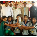 Gold Medal in Women Cross Country Race