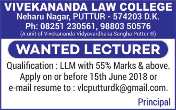 Vivekananda-Law-Wanted-